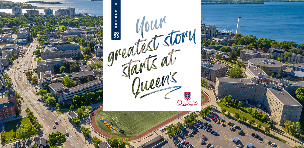 Queen's Viewbook Cover Image 2022