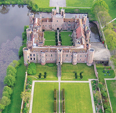 [aerial view of the Castle]