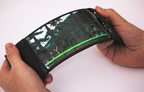 [flexible phone prototype]