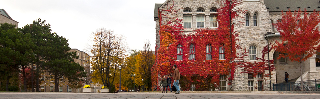 [Ontario Hall in fall]