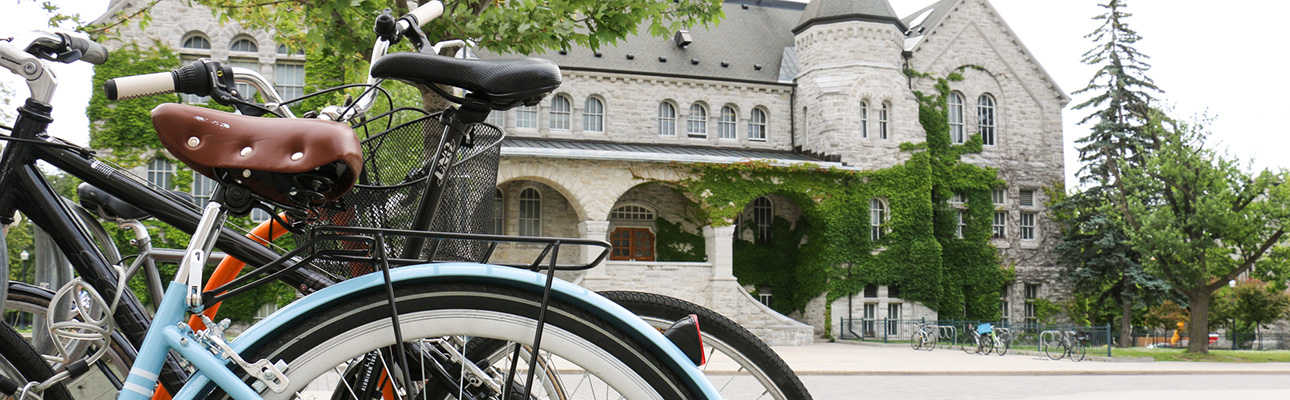 [bicycles and Ontario Hall]