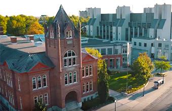 [Queen's campus]