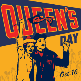 Queen's Day is October 16th.