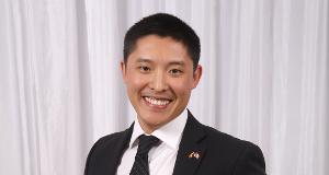 Outstanding Student Award recipient, Cam Yung, Artsci'18