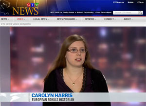 Carolyn Harris (MA'07, PhD'12)