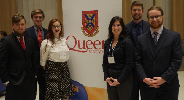 Alumni at Ottawa event