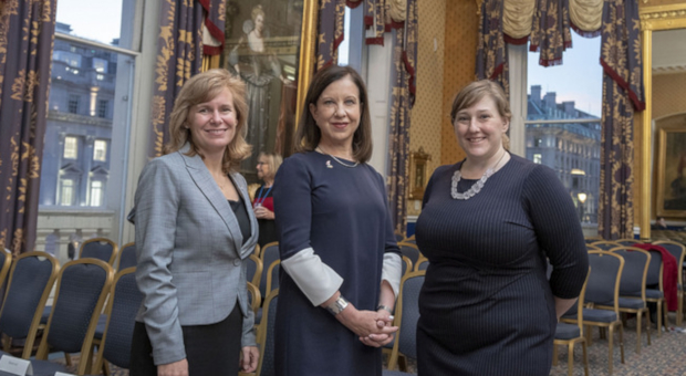 Branch evening with Lyse Doucet