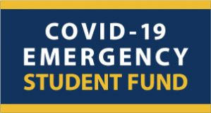 COVID-19 Emergency Student Fund graphic