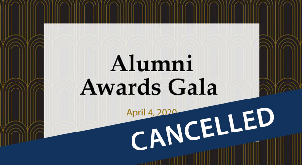 Gala cancelled banner