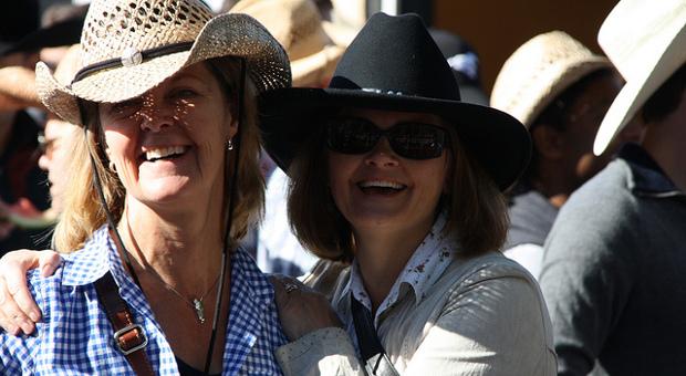 Calgary alumni at stampede