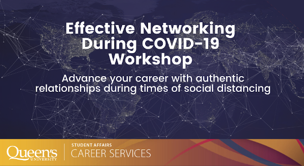 Effective Networking During COVID-19 Workshop