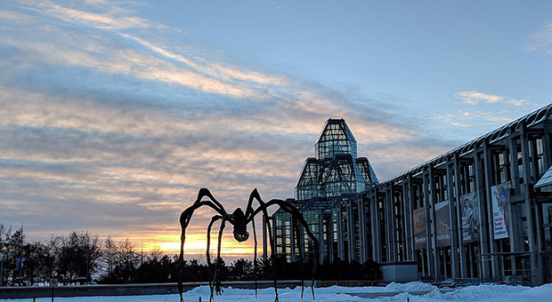 National Gallery of Canada and Maman sculpture