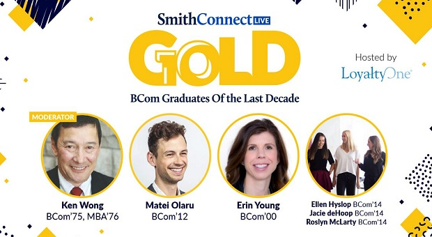 SmithConnect Live GOLD BCom Graduates of the Last Decade