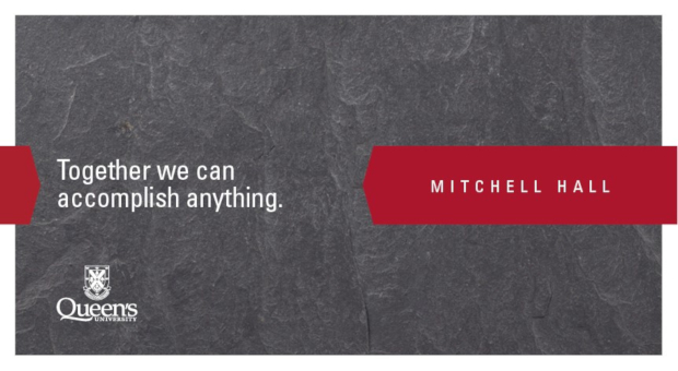 Together we can accomplish anything. Mitchell Hall