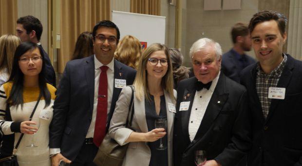 Ottawa Branch Alumni socializing