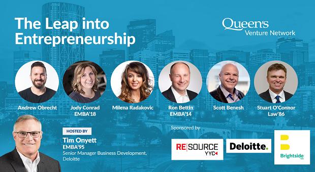 QVN Calgary Presents: The Leap into Entrepreneurship