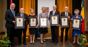 2018 Distinguished Service Award recipients