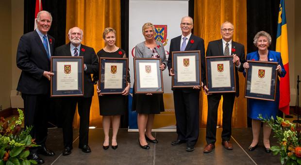 2018 Distinguished Service Award recipients