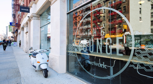 WeWork Soho Lounge