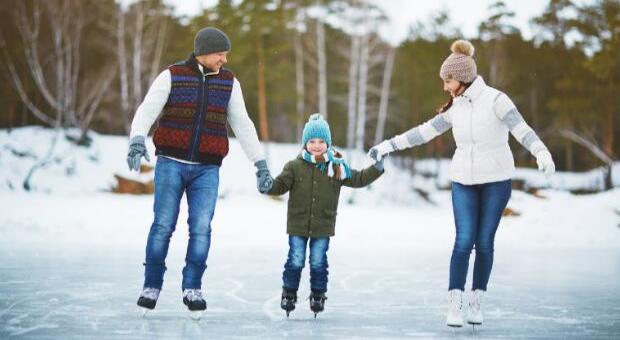 Family Winter Skating