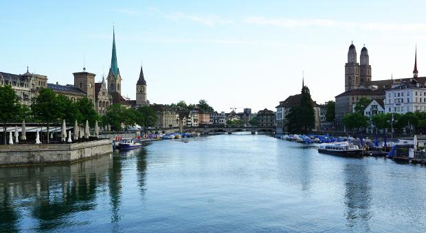 Zurich waterscape