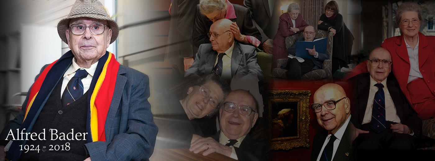 Alfred Bader 1924-2018