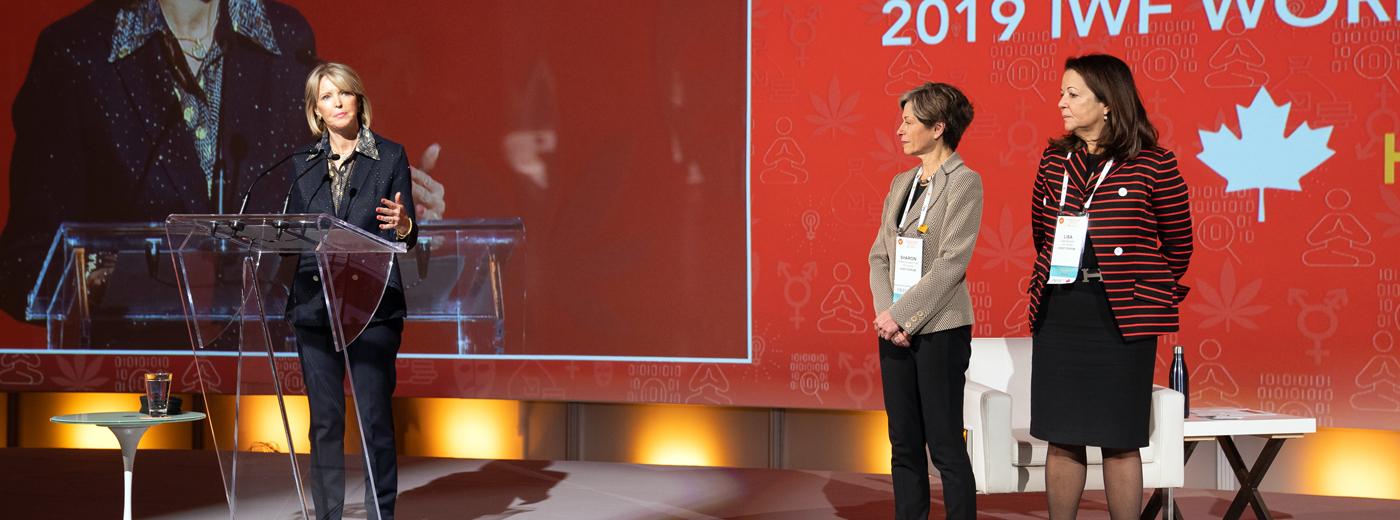Deborah Shannon Trudeau, Artsci'76, International Women's Forum (IWF) President (photo courtesy IWF)