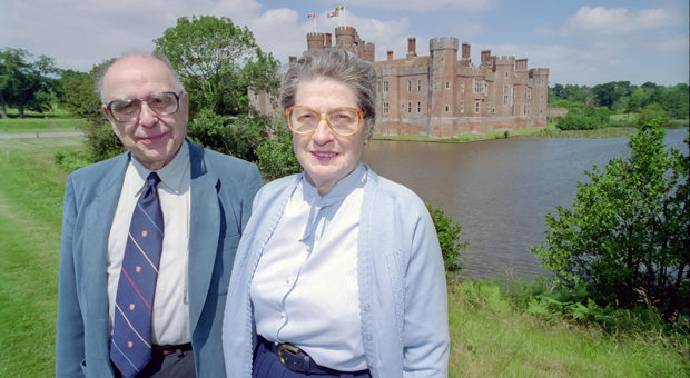 alfred and isabel at herstmonceux castle