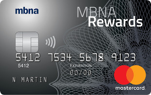 MBNA Rewards Platinum Plus Mastercard credit card