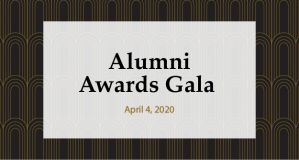 Alumni Gala Awards