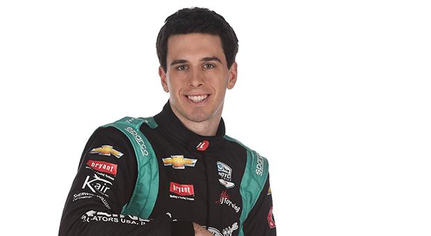 Race car driver Dalton Kellett