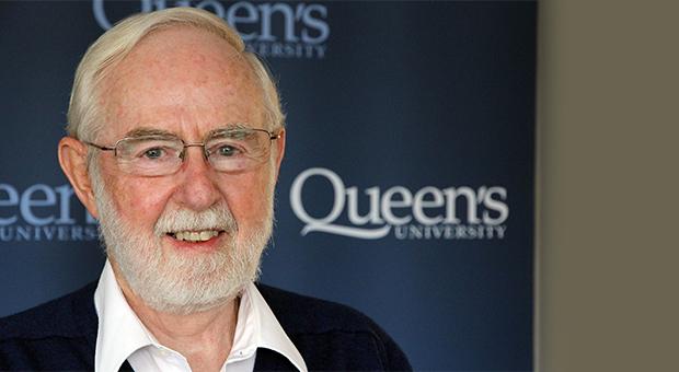 Professor Emeritus Art McDonald.