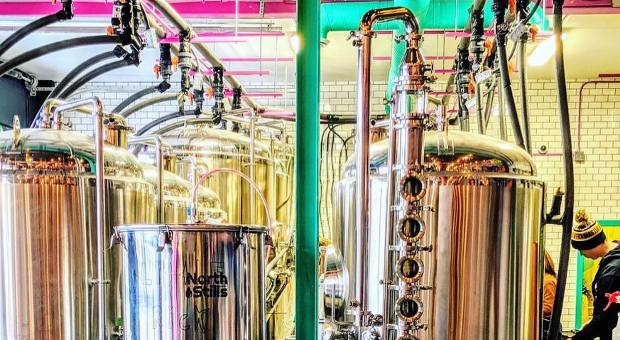 Image of Daft Brewing Facility