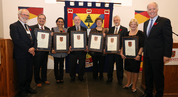 The 2019 Distinguished Service Award recipients