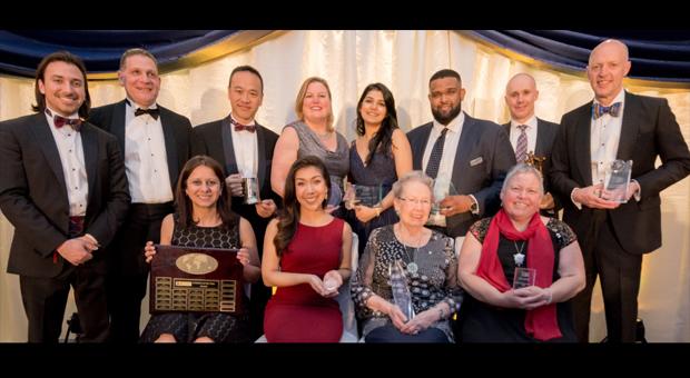 Gala 2018 award recipients