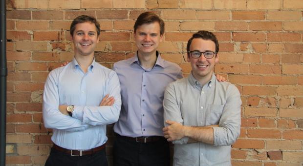 CleanSlate founders Taylor Mann, Scott Mason, Oleg Baranov