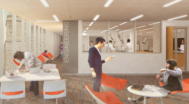 Innovation and Wellness Centre study spaces