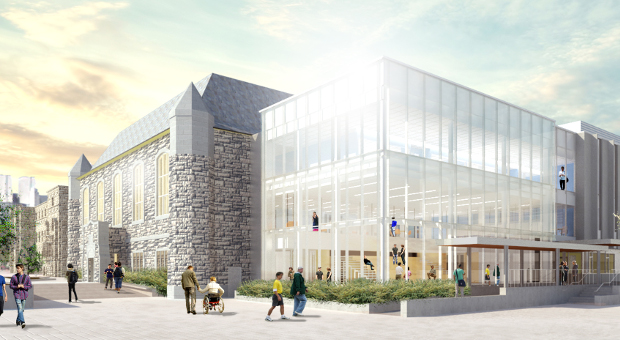 Innovation and Wellness Centre - Architect Renderings