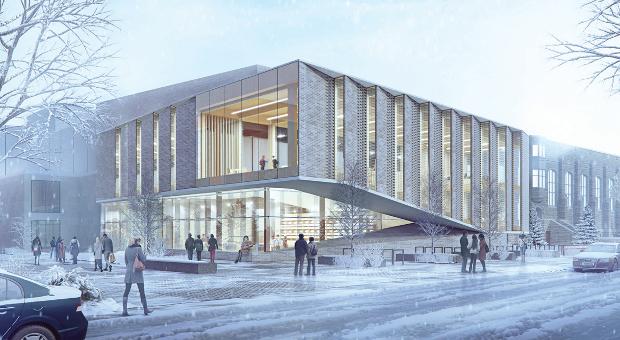 Design rendering of the revitalized JDUC