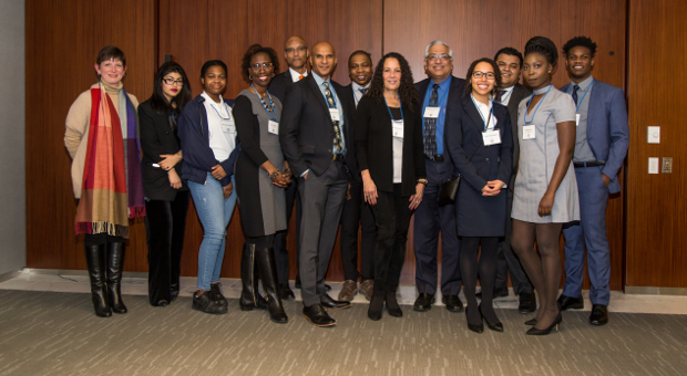Black Law Students' Association speed mentoring event