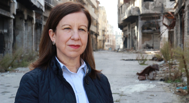 lyse doucet photo in syria