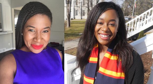 Yinka Adegbusi and Asha Gordon
