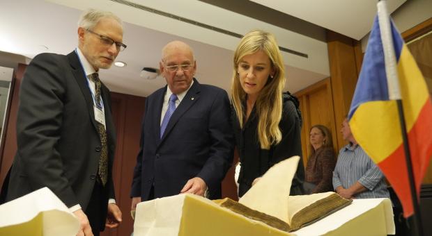 Alvan Bregman, Seymour Schulich, and Judy Schulich