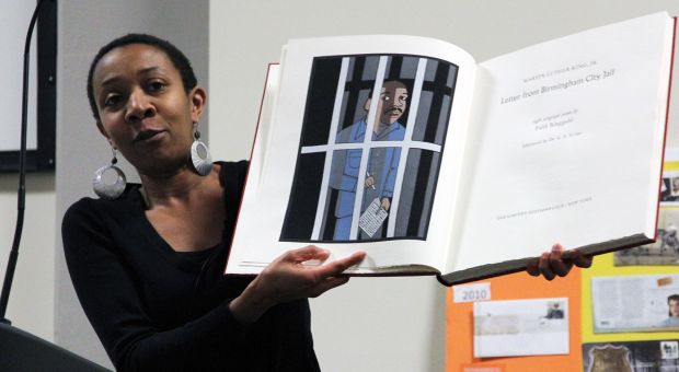 Stephanie Simpson shares an illustrated edition of Martin Luther King Jr's Letter from Birmingham Jail