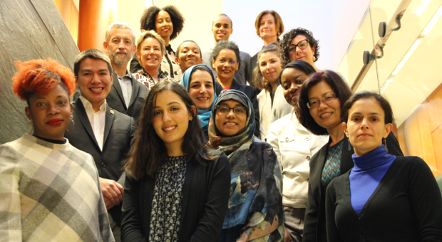 Members of the university council on anti racism and equity at queen's