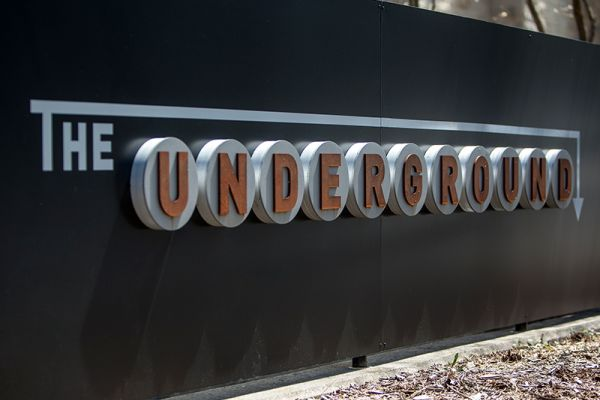 Sign for The Underground