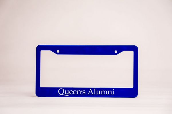 Queen's Alumni License Plate Frame
