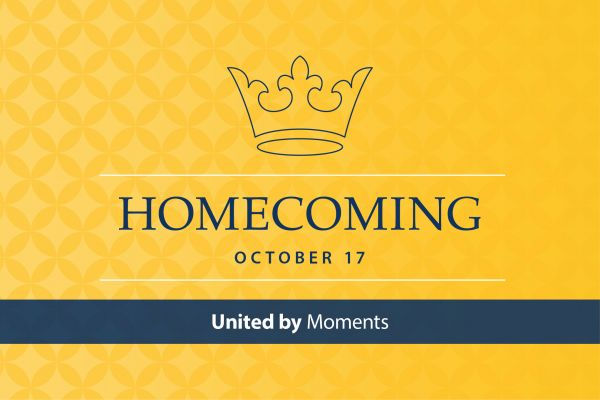 Homecoming October 17. United by moments