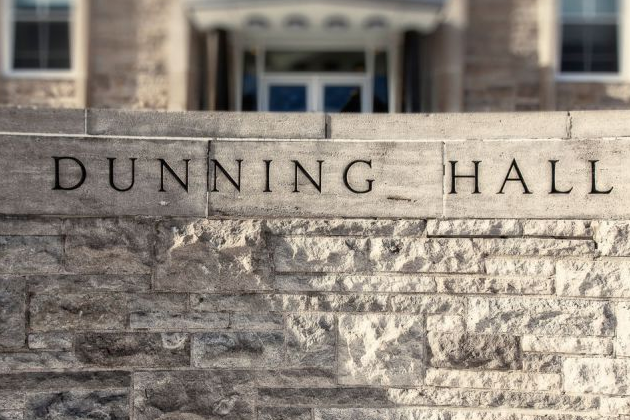 Arts and Science at Queen's University move to Dunning Hall
