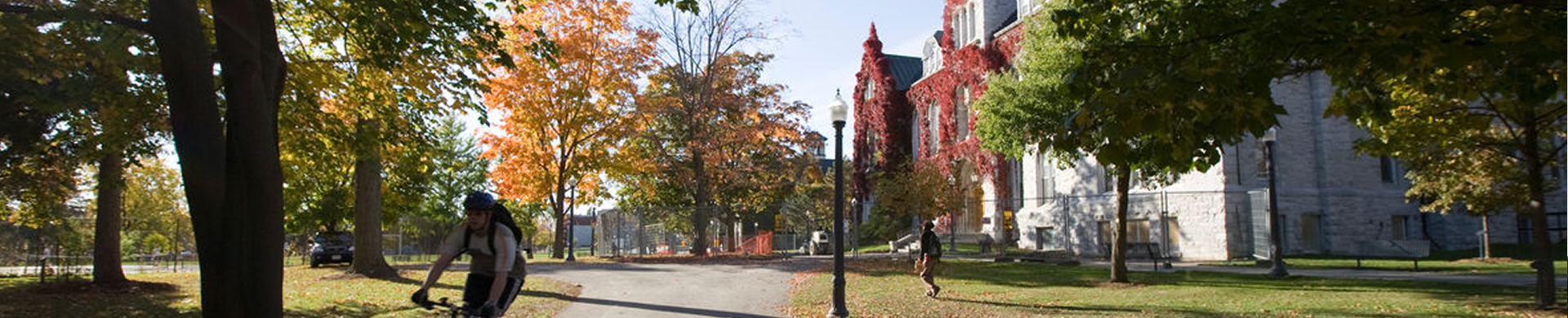 Queen's campus in the fall